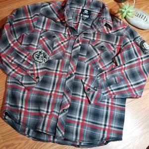 Decoded long sleeve button up dress shirt